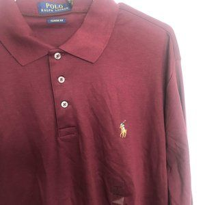 L/S Ralph Lauren Polo 3 button